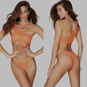 BOUND by Bond Eye The Sinner Orange Bikini Bottom